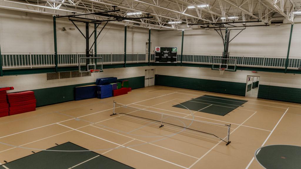 Indoor courts in Community Center