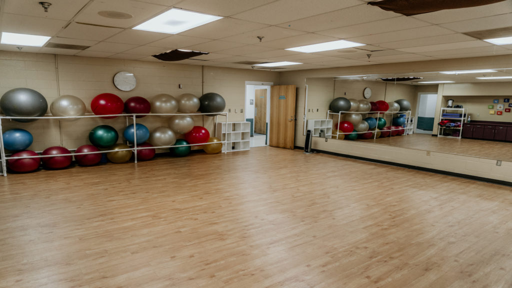 Exercise Room in Community Center