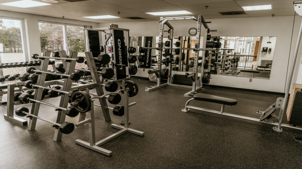 Weight Room in Community Center