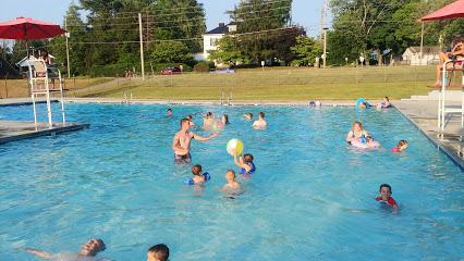 Outdoor public pool
